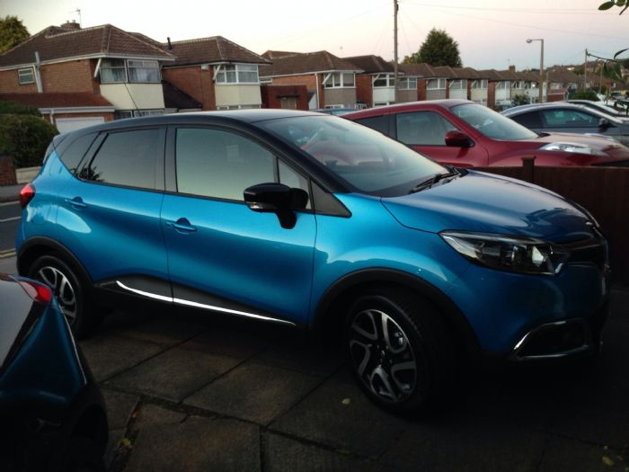 just got mine renault captur forums. Black Bedroom Furniture Sets. Home Design Ideas