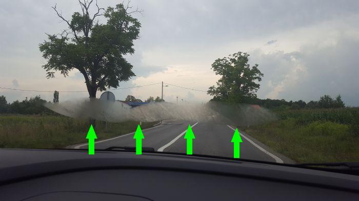Strange outside fogging of front windshield - Renault Captur Forums