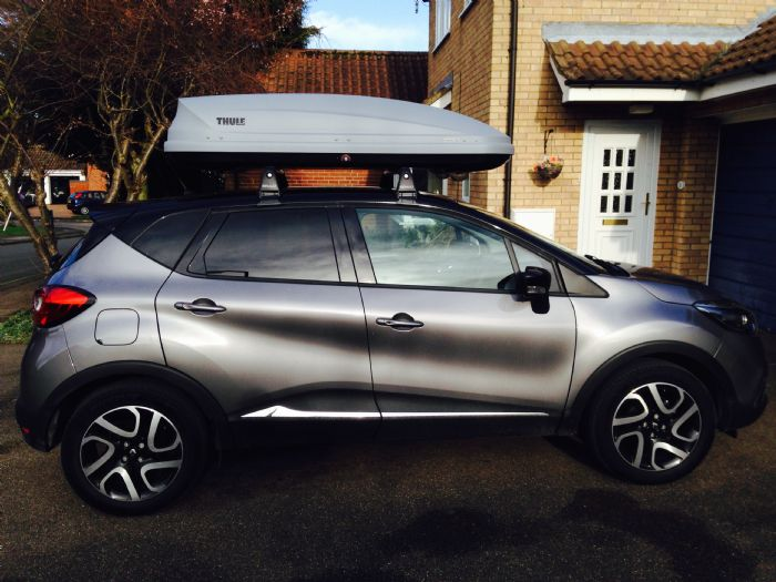 What Size Roof Box Renault Captur Forums Page 2